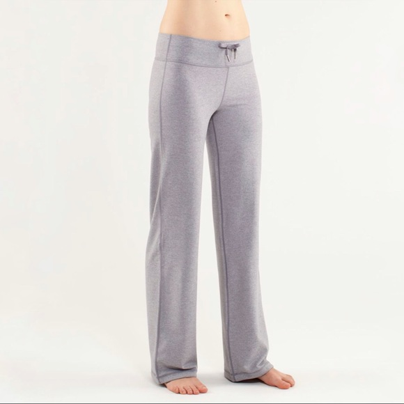 Lululemon | Relaxed Fit Pant in Heathered Fossil * Hemmed